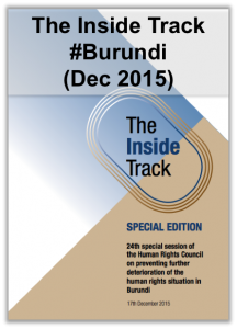 Inside Track Burundi