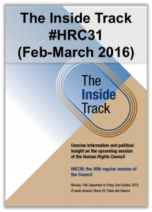 Inside Track HRC31