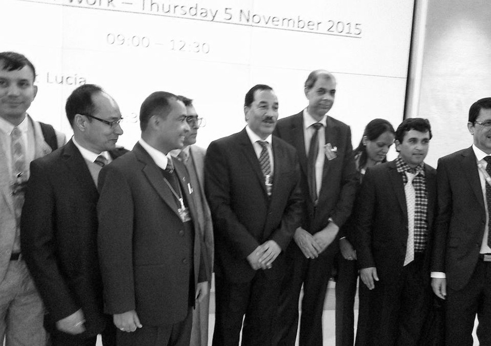 picture of Nepal delegation UPR copy
