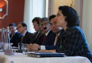Dr. Nazila Ghanea on high-level panel presenting URG Policy Report on combatting religious intolerance