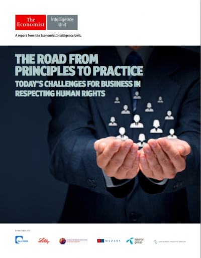 The road from principles to practice: Today's challenges for business in respecting human rights
