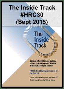 Inside Track HRC30