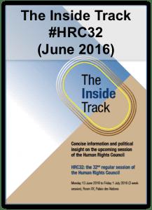 Inside track HRC32