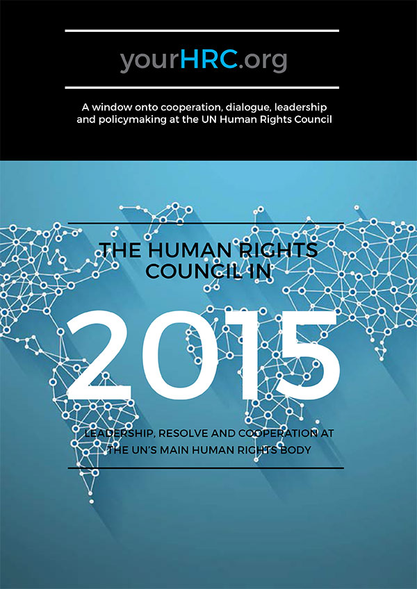 The Human Rights Council in 2015