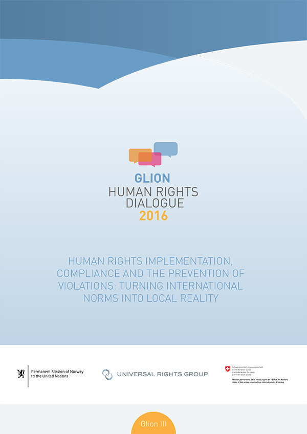 Human rights implementation, compliance and prevention ('Glion III' report)