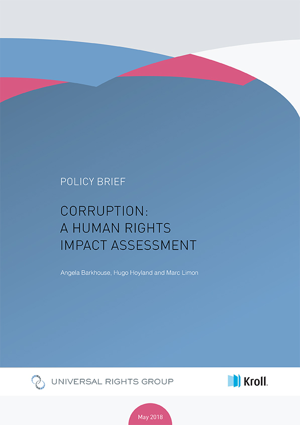 Corruption: a human rights impact assessment