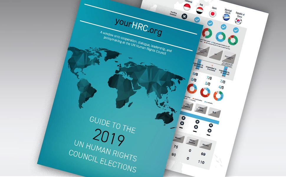 Guide to the 2019 UN Human Rights Council Elections.
