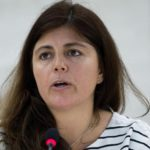 Maria Magdalena Sepulveda Carmona, Special Rapporteur on extreme poverty and human rights addresses during the 20th Session of the Human Rights Council.