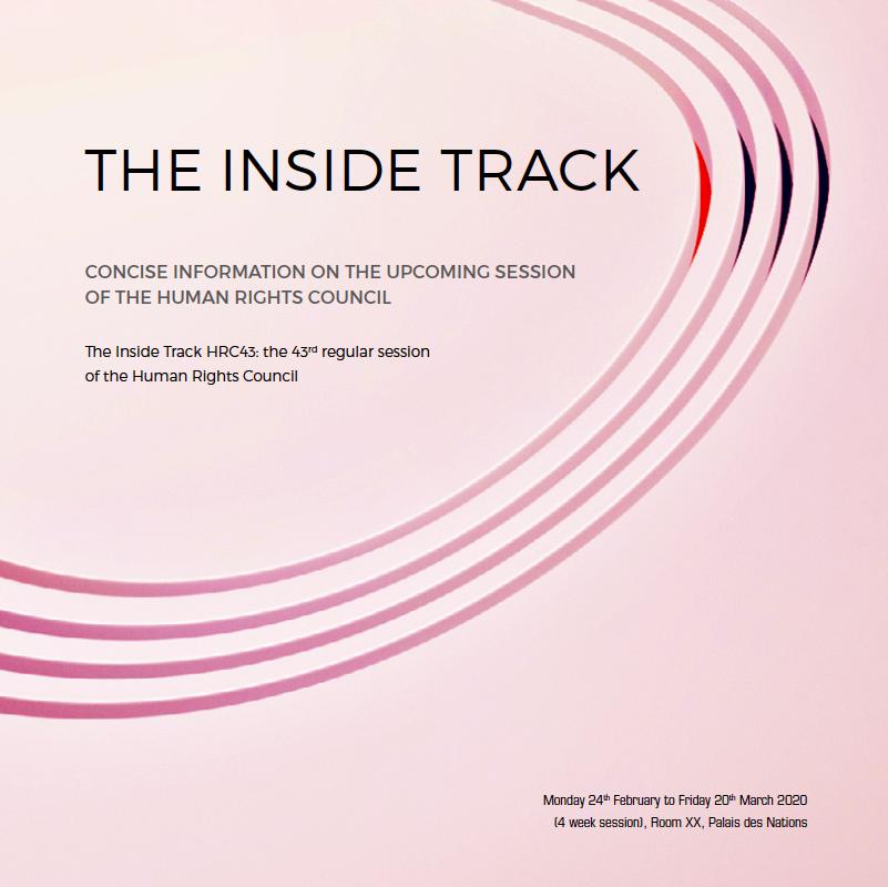 Inside Track: HRC43