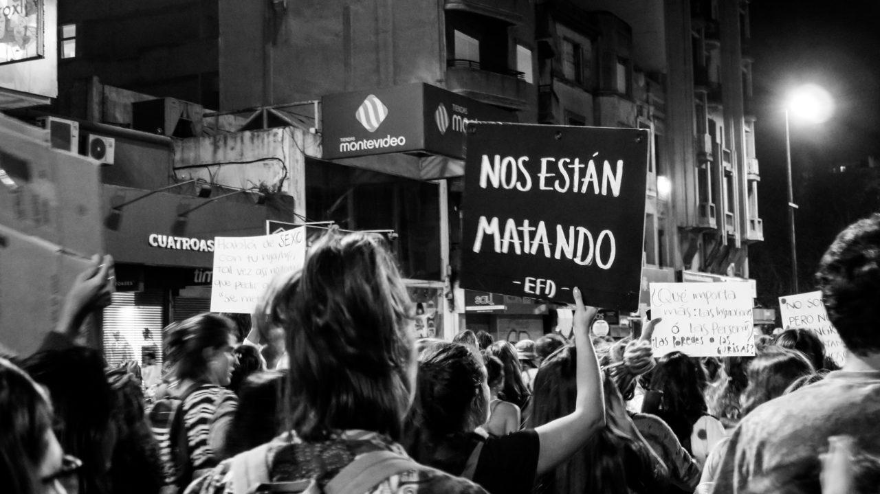 """Encuentro de Feministas Diversas; """"Nos están matando""""; March 13, 2018; CC BY-SA 2.0"""