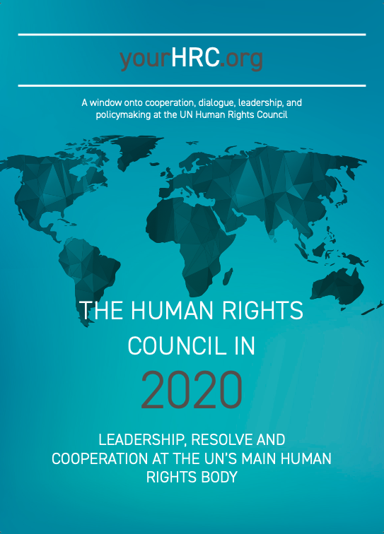 The Human Rights Council in 2020